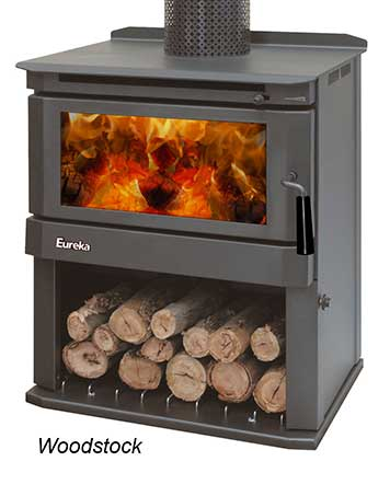Eureka Woodstock Slow Combustion Wood Heater